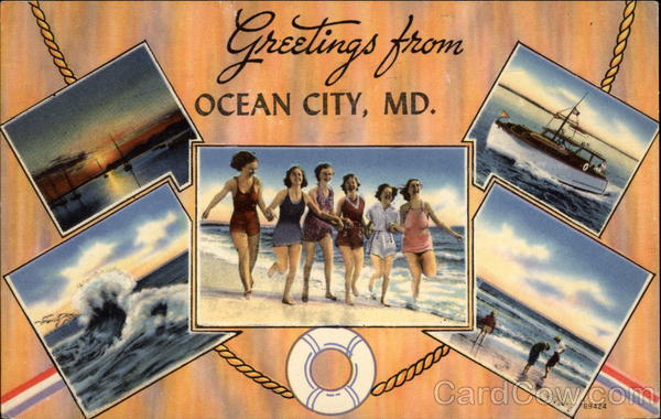 Greetings From Ocean City, MD Maryland