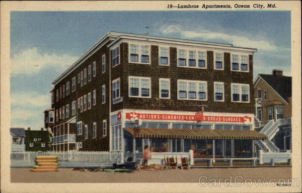 Lambros Apartments Ocean City Maryland