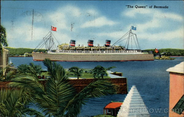 The Queen of Bermuda Steamers