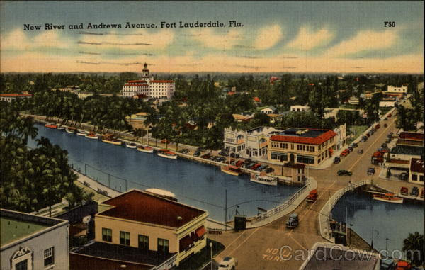 New River and Andrews Avenue Fort Lauderdale Florida