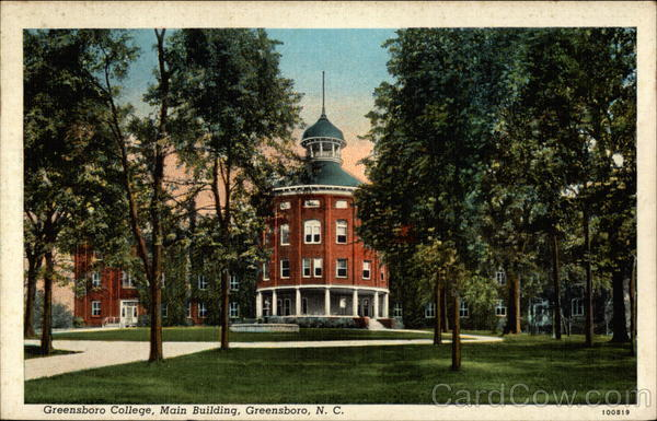 Greensboro College, Main Building North Carolina
