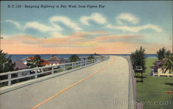 Seagoing Highway Pigeon Key Florida