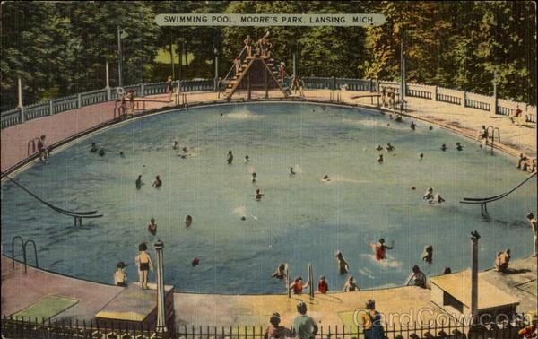 Swimming Pool Moore 39 S Park Lansing Mi