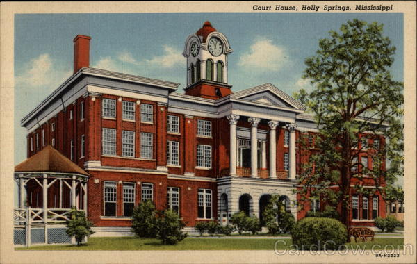 Court House Holly Springs Mississippi