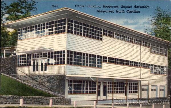 Barber Shop Asheville Nc : Center Building, Ridgecrest Baptist Assembly