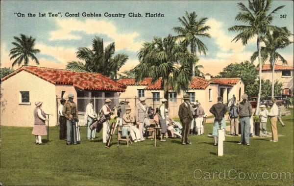 One the 1st Tee, Coral Gables Country Club Florida
