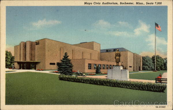 Mayo Civic Auditorium Rochester Minnesota
