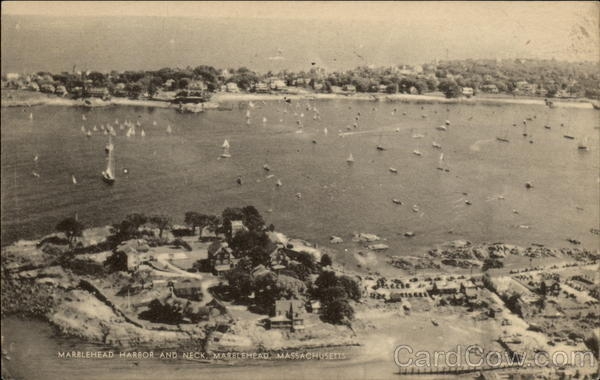 Marblehead Harbor and Neck Massachusetts