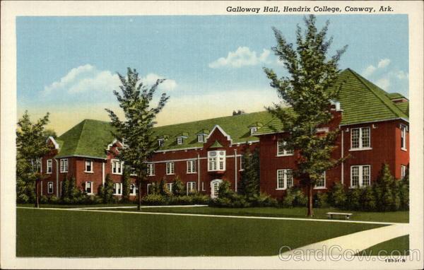 Galloway Hall, Hendrix College Conway Arkansas
