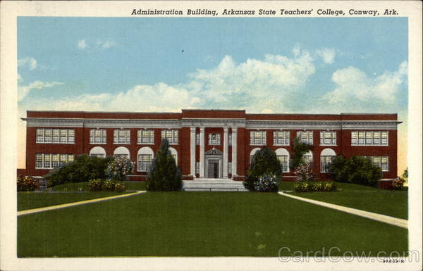 Administration Building, Arkansas State Teachers' College Conway