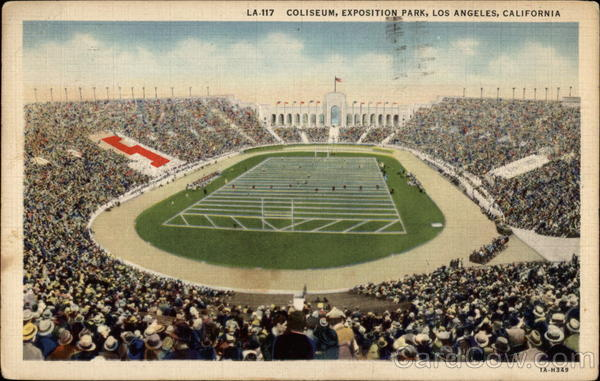 Coliseum, Exposition Park Los Angeles California
