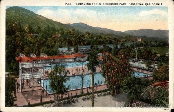Swimming Pools Brookside Park Pasadena Ca