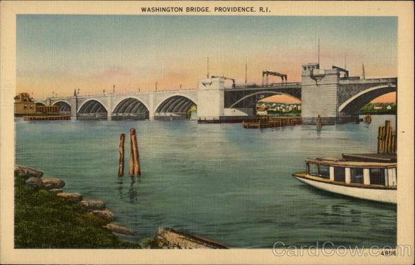 Washington Bridge Providence Rhode Island