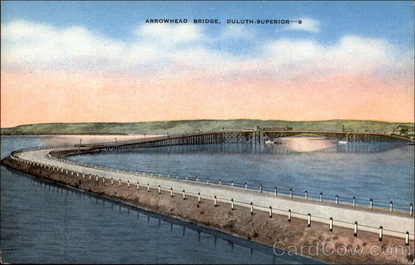 Arrowhead Bridge, Duluth - Superior Minnesota
