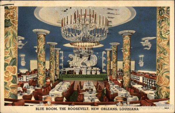 Blue Room, The Roosevelt Hotel New Orleans Louisiana