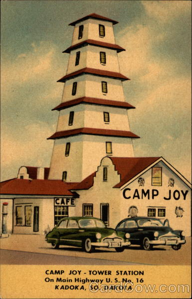 Camp Joy Tower Station Kadoka South Dakota