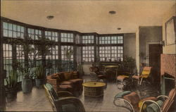 The Solarium at the Mimslyn Hotel