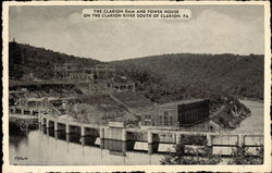 The Clarion Dam and Power House
