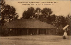 McCleary Lodge Recreation Hall