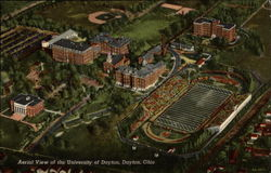 Aerial View of the University of Dayton