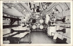 Torpedo Room of Submarine S-49