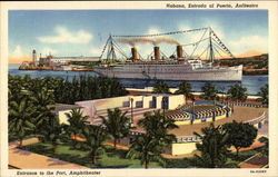 Amphitheater and Port Postcard