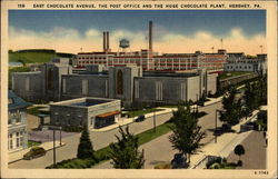 East Chocolate Avenue, The Post Office, and the Huge Chocolate Plant