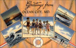 Greetings From Ocean City, MD