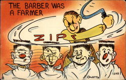 The Barber was a Farmer