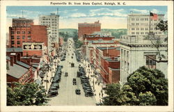 Fayetteville Street from State Capitol