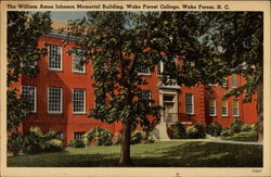 The William Amos Johnson Memorial Building, Wake Forest College