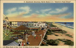 "Boardwalk Attractions, ""America's Finest Strand"""