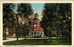 Greensboro College, Main Building