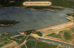 Aerial View of Wappapello Dam