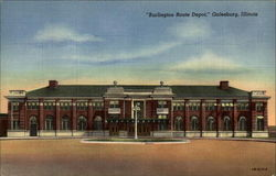 """Burlington Route Depot"""