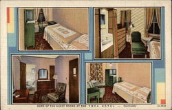 Some of the Guest Rooms at the YMCA Hotel