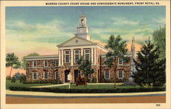 Warren County Court House and Confederate Monument