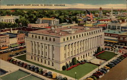 Union County Court House Postcard