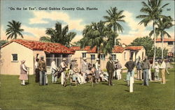 """One the 1st Tee,"" Coral Gables Country Club"