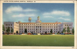 United States Marine Hospital Postcard