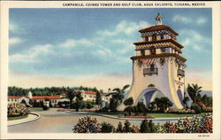 Campanile, Chimes Tower and Golf Club, Agua Caliente