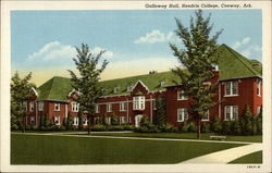 Galloway Hall, Hendrix College Postcard