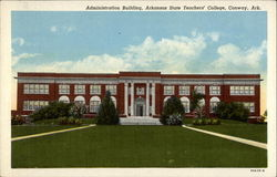 Administration Building, Arkansas State Teachers' College Postcard