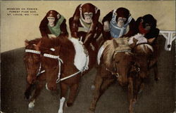 Monkies on Ponies, Forest Park Zoo