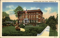 Galesburg Club, Civic Center