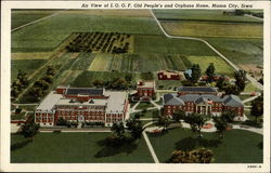 Air View of I.O.O.F. Old People's and Orphans Home