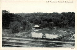 U. S. Fish Farm Postcard