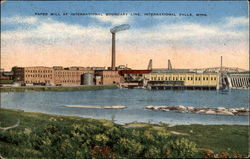 Paper Mill At International Boundary Line