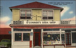 O'Connor's Soda Shop Postcard