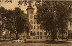 Main Hall, North Central College Postcard